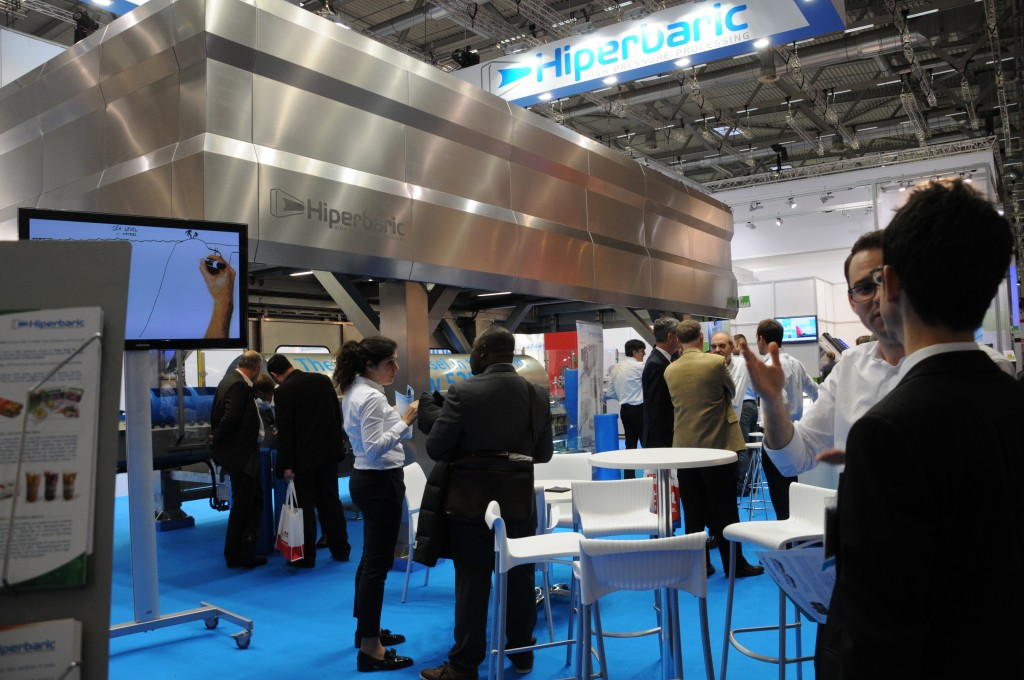 Busy days at Anuga Foodtec