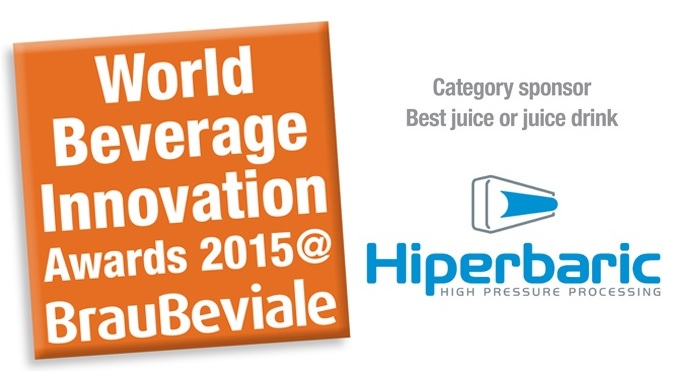 Sponsorship Best Juice World Beverage Innovation Awards 2015