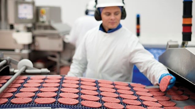carnes bajo presión