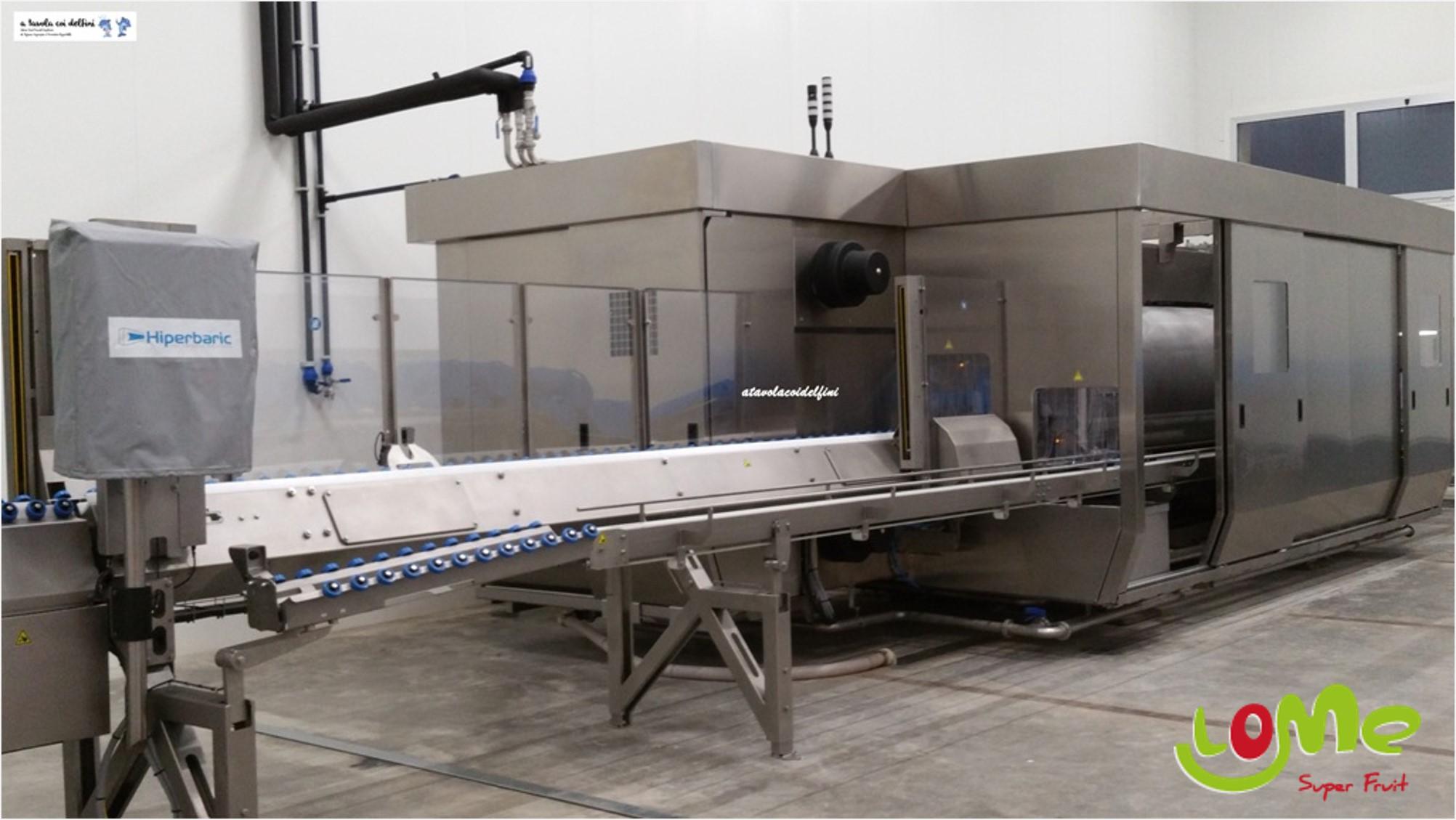 Hiperbaric 420 en las nuevas instalaciones de Masseria Fruttirossi en Castellaneta. Fuente: http://www.atavolacoidelfini.com