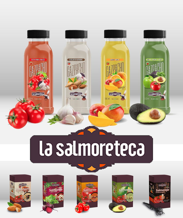 Range of products of La Salmoreteca with extended Shelf-life