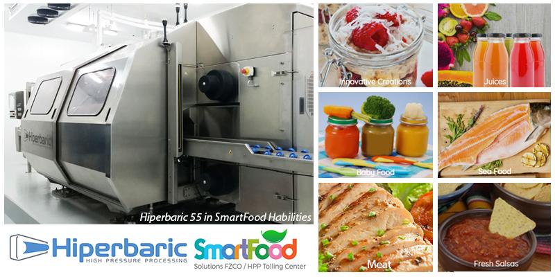 Hiperbaric 55 in SmartFood Habilities