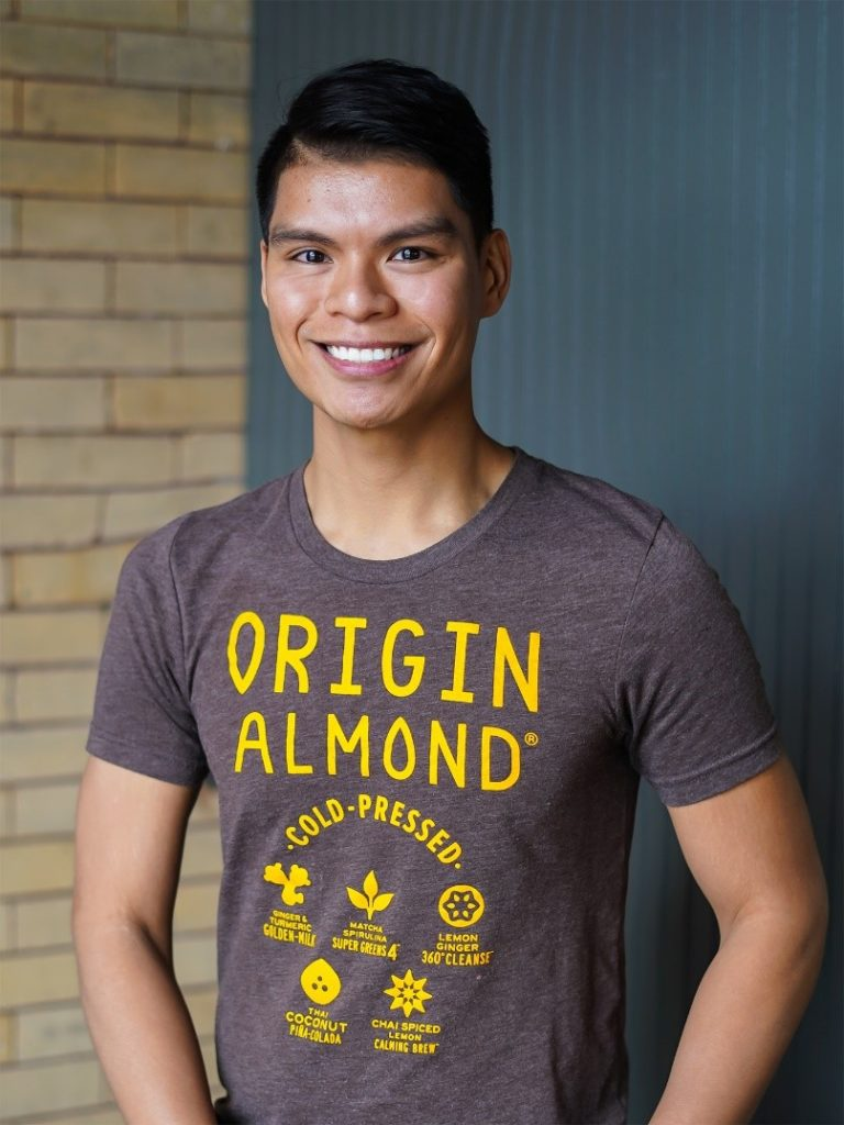 Jake Deleon, Founder of Origin Almond®