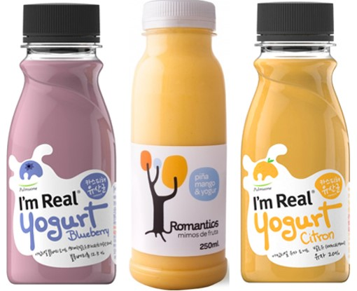 Figure 7. HPP fruit smoothies including yogurt as one of the main ingredients
