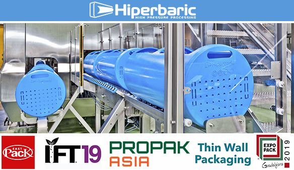 Packaging trade shows that Hiperbaric going to attend in June.