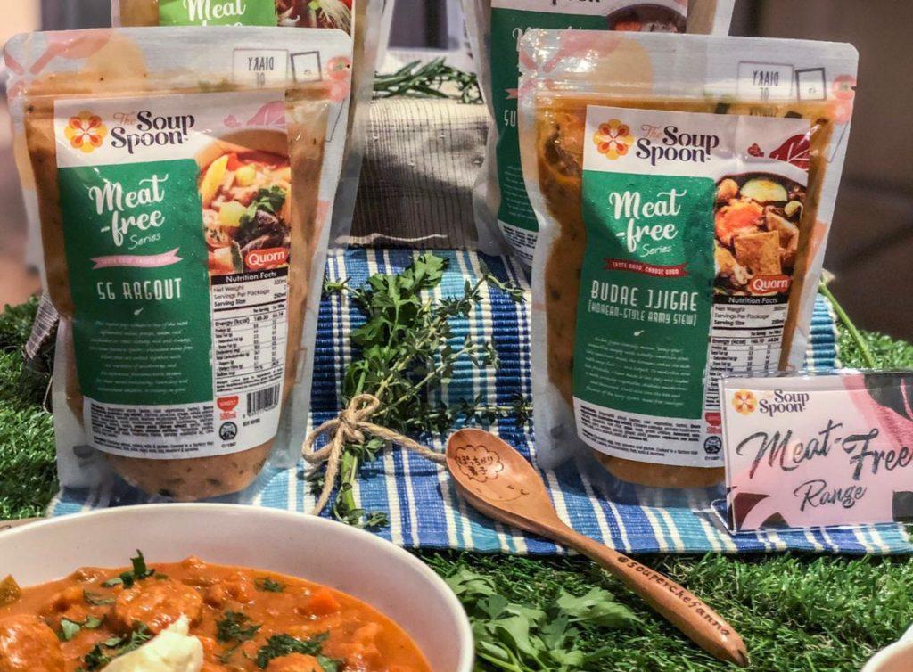 """Algunos ejemplos de platos preparados HPP de la marca """"The Soup Spoon"""""""