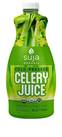 Image 2. HPP 'Celery Juice' of Suja.