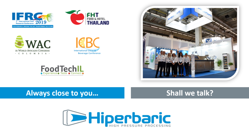 Picture of September HPP events where you can find Hiperbaric