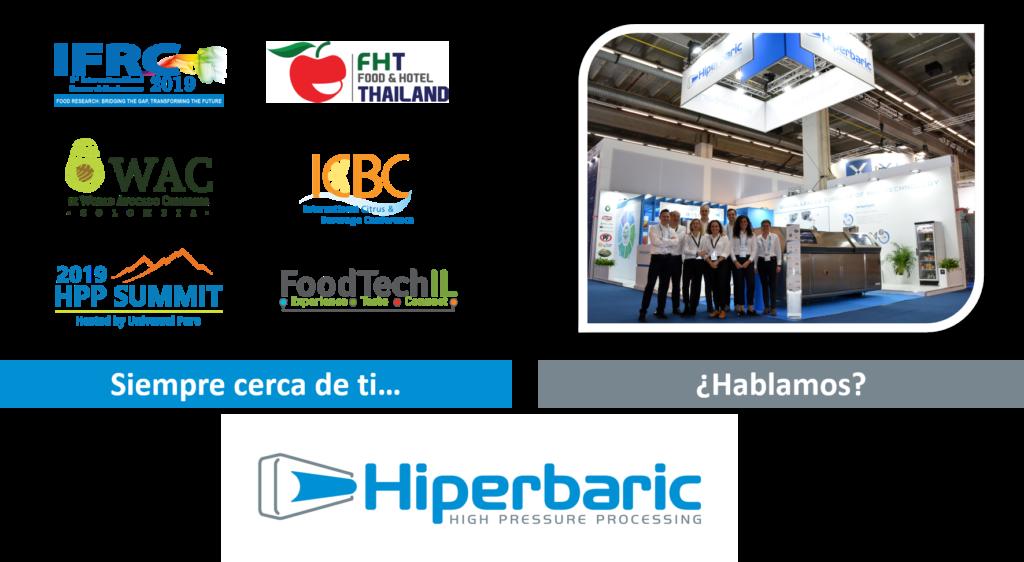 Imagen de los eventos HPP de septiembre donde puedes encontrar a Hiperbaric