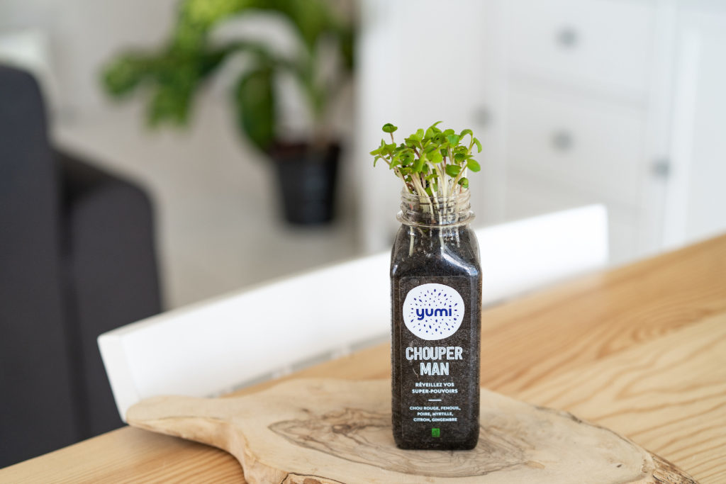 Biodegradable PLA Bottle of Yumi