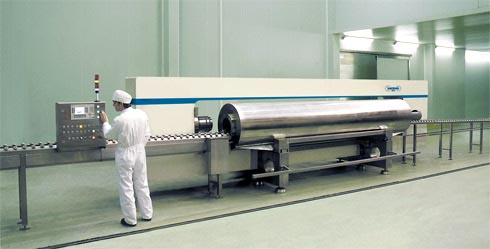 San Mateo Proyect: First high pressure processing machine installed by Hiperbaric