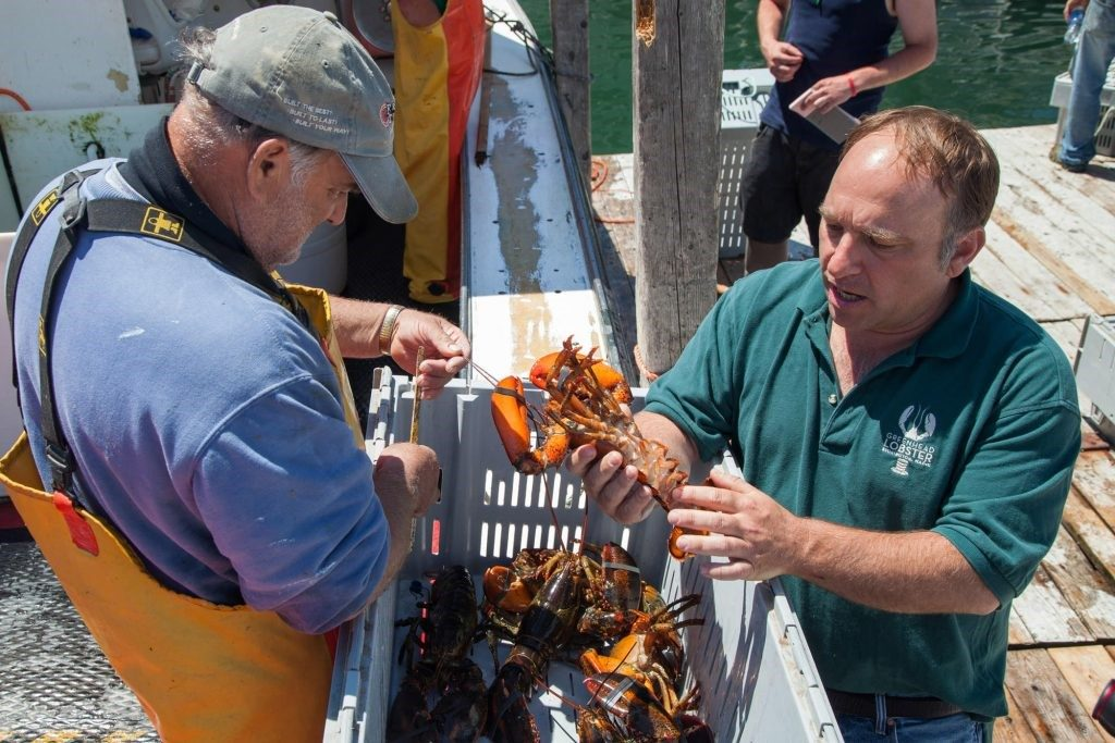 Hugh Reynolds, propietario de GreenHead Lobster