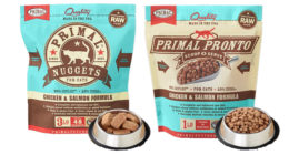 HPP Frozen raw pet food of Primal company