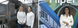 Margarida Rodrigues, an expert in Industrial Biotechnology, and Patricia López, specializing in Food Technology, are the latest two STEM women to join the company. Ángeles Ruiz is part of Hiperbaric's delegation in Miami.