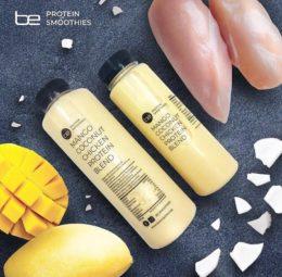 BE Protein Smoothies es un batido a base de pollo con 65 g de proteína e ingredientes 100% naturales, sin conservantes ni aditivos.