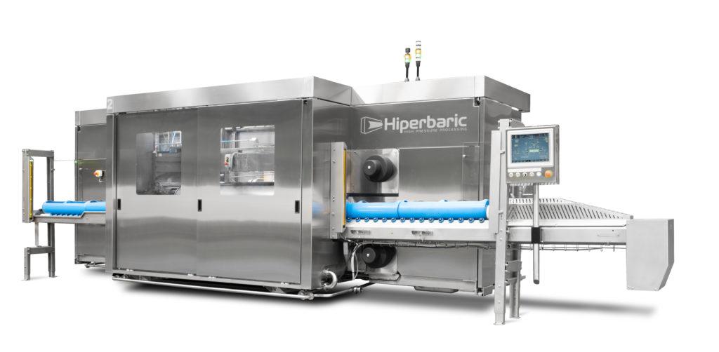 Nueva Hiperbaric 55, diseño y productividad para un equipo HPP con excelentes prestaciones