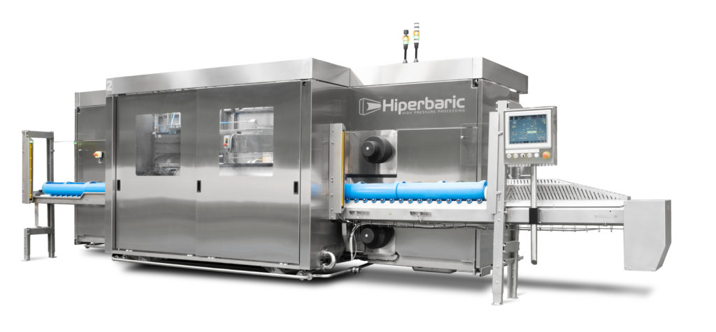 New Hiperbaric 55, design and productivity for a HPP equipment with excellent features