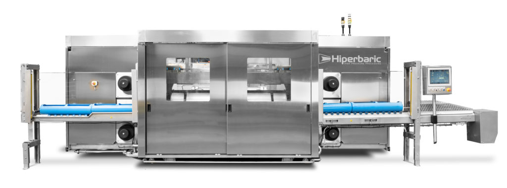 Fig. 1. New Hiperbaric 55, the reference among small HPP industrial equipment