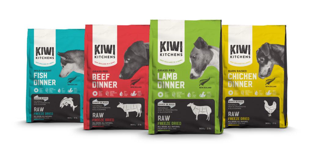 Alimentos para mascotas HPP de la compañia Kiwi Kitchens