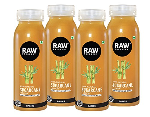 Figure 3: Sugarcane juice commercialized by Raw Pressery.