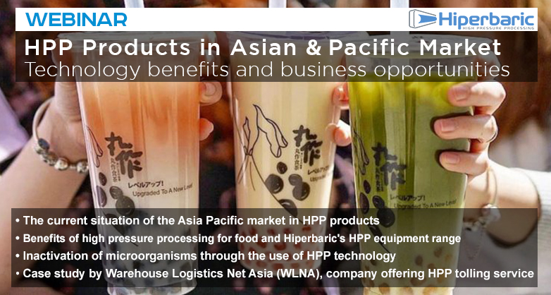HPP Products in Asian & Pacific Market